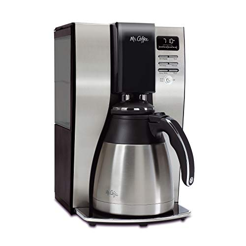 Mr. Coffee 10-Cup Coffee Maker | Optimal Brew Thermal System Delay Brew Coffee Maker
