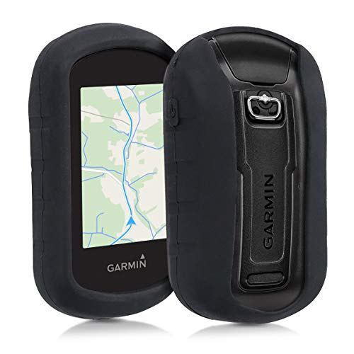 - kwmobile Case for Garmin eTrex Touch 25/35 - GPS Handset Navigation System Soft Silicone Skin Protective Cover - Black