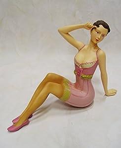 Vintage Retro Pin up Girl - Decorative Figurine Poly Resin ...