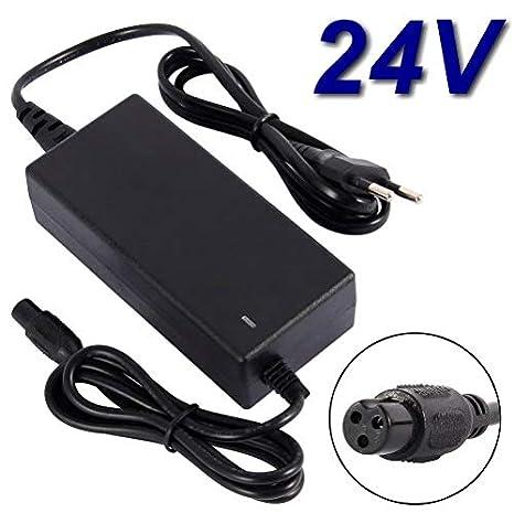 Cargador de 24 V para patinete eléctrico Razor E200 E300 ...