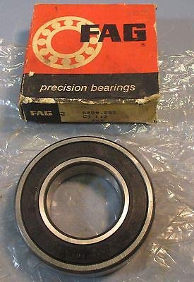- FAG FAG 6209.2RS C3 Deep Groove Sealed 45mm Bore Ball Bearing NOS