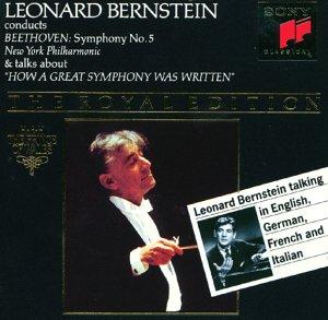 Beethoven: Symphonie No. 5 mit Erläuterungen von Leonard Bernstein - Ludwig  van Beethoven, Leonard Bernstein, New York Philharmonic: Amazon.de: Musik