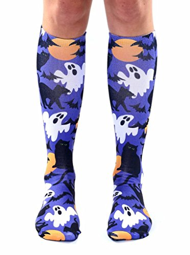 Living Royal Halloween Socks (KNEE HIGH, Hocus Pocus) (Hocus Pocus Costume Shop)