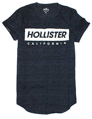Hollister Men's Soft Graphic Tee HOM-18 (Small, 0068-903) from Hollister Co..