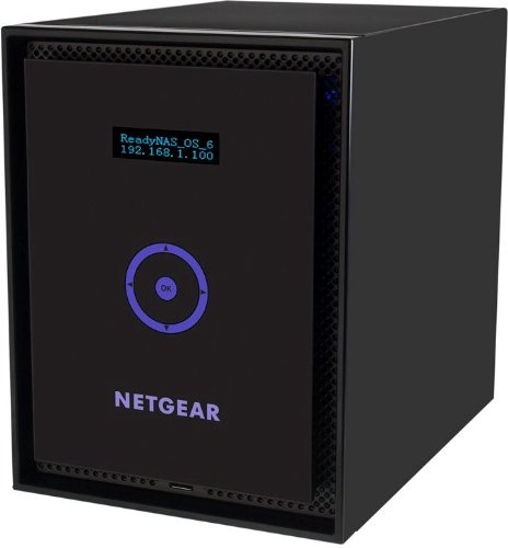 NETGEAR ReadyNAS 316 6-Bay Network Attached Storage for Small Business and Home Users with 6x2TB Desktop Class HDD (RN31662D-100NAS)