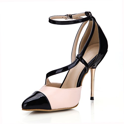 Dress DolphinWomen Black Black High Fashion 11CM Stiletto Casual Heels Pumps Evening SM00046 Shoes Sandals rqXS1r