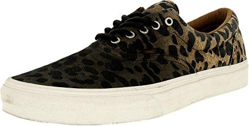 Vans Mens Era CA Ombre Dyed Cheetah Sneakers Black 11