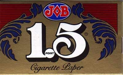 JOB 1.5 Cigarette Papers - 12 packs
