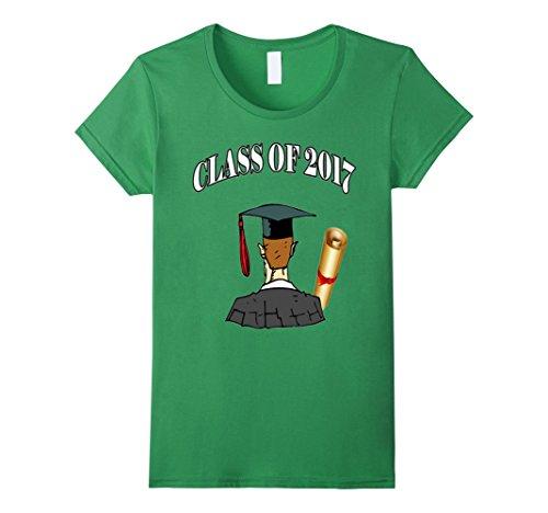 Women's Graduation Gift Idea Class Of 2017 Shirt Medium Grass (Toga Ideas)
