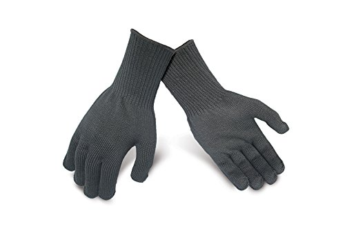 Kezzled Oven, BBQ Gloves (Heat, Flame & Cut Resistance - EN407 Tested Level 3, 662F 15s+) by Kezzled