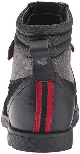 DVS Évêque Chaussures en cuir noir