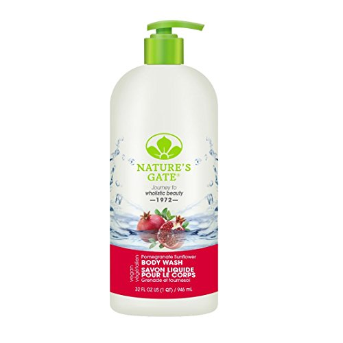 Nature's Gate Body Wash, Pomegranate Sunflower 32 oz