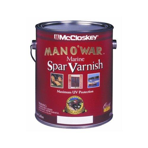 (McClosky Man O War 80-7507 Spar Varnish-Low VOC, Semi-Gloss ~ One Gallon by McCloskey )