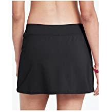 Lazy Cat Women's Beach Swim Skirt With Attached Panty Bottoms