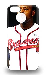 Hot New MLB Atlanta Bravs Justin Upton #8 3D PC For SamSung Galaxy S3 Phone Case Cover With Perfect Design ( Custom Picture For SamSung Galaxy S3 Phone Case Cover )