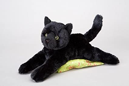 Amazon Com Douglas Cuddle Toys Plush Tug Black Cat Soft And Cuddly
