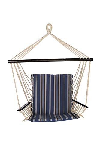 Ben&Jonah PerfectPatio Reversible Metro Chair - Blue Stripe ()