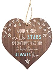 Manta Makes Good friends are like stars hanging heart | friendship gift for her for women