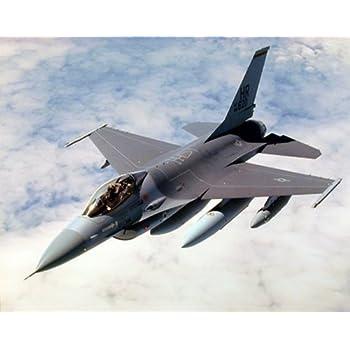 Military F-16 Falcon Jet Airplane Aviation Wall Decor Art Print Poster (16x20)