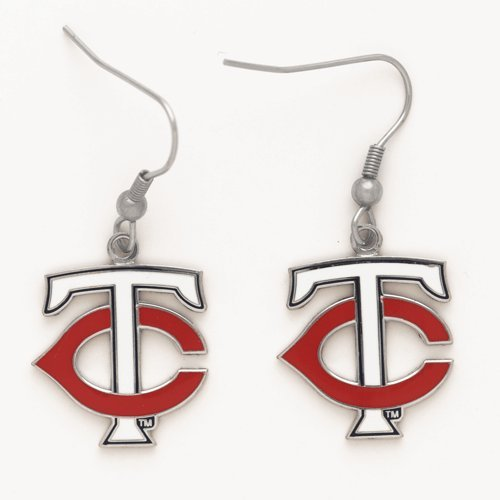 [MLB Minnesota Twins 50291071 Earrings Jewelry Card] (Mlb Jewelry)