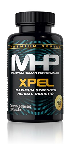 Mhp Xpel Maximum Strength Diuretic Capsules  80 Capsules  Packaging May Vary