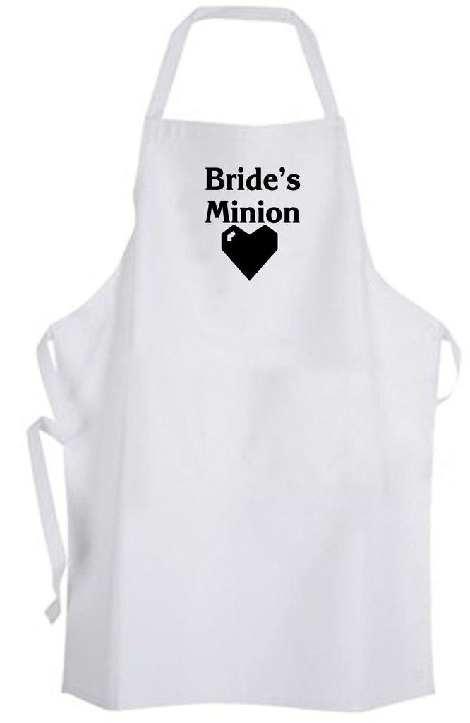 Bride's Minion – Adult Size Apron - Wedding Bride Bachelorette Party Bridesmaid