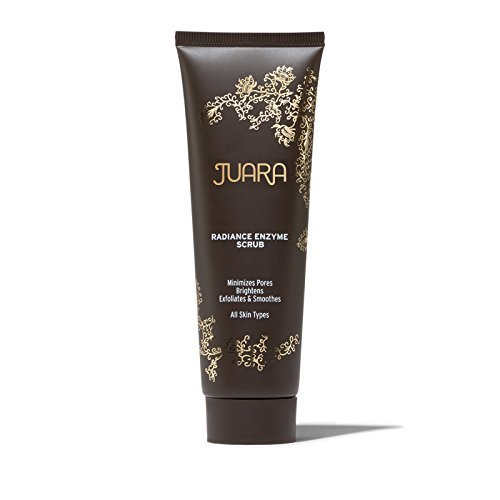 JUARA Radiance Enzyme Scrub – Facial Enzyme Scrub – Physical Exfoliant Enzyme Facial Scrub for All Skin Types – Enzyme Exfoliant for Face – Dermatologist Tested – 100% Vegetarian 2.5 oz. (73.9 mL)