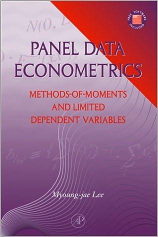 Amazon.com: Panel Data Econometrics: Methods-of-Moments and ...