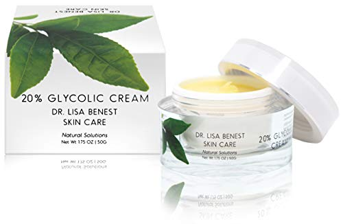 Dr Lisa Benest Skin Care 20% Glycolic Acid Anti-Aging Face Cream 1.75 Ounce - Acid Glycolic Collagen