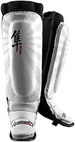 Hayabusa Ikusa Shin Guards ホワイト X-Large