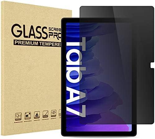 ProCase Samsung Galaxy Tab A7 10.4 Privacy Screen Protector (Model: SM-T500/ T505/ T507), Anti-Spy Anti-Glare Anti-Scratch Tempered Glass Screen Film Guard for Galaxy Tab A7 10.4 inch 2020 Release