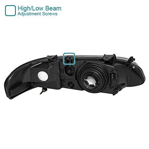 d Euro Spec-D Tuning LH-SEN00G-RS Smoke Headlight