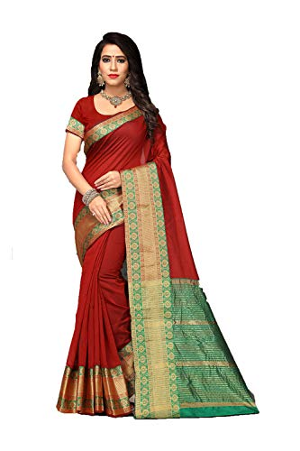 Women Indian Dark Wedding Sari Designer Da Wear Red Facioun Sarees Traditional Party q5wZZt