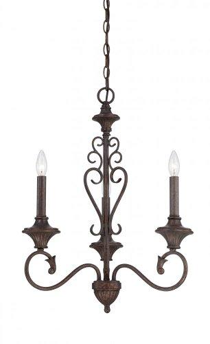 (Designers Fountain 84883-BU Helena 3 Light Chandelier, 10