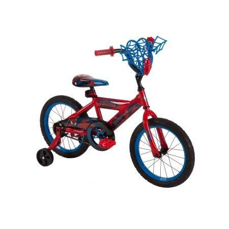 "Huffy 16"" Boys' Marvel Ultimate Spider-Man Bike 51966, Red"