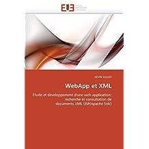 WEBAPP ET XML