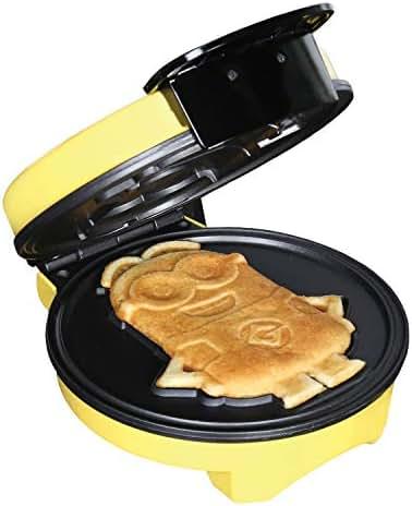 Minions Waffle Maker - Electric Waffle Iron Kitchen Appliance -