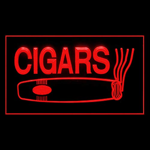 200001 Cigars Cuban Production Tobacco Enthusiasts Display LED Light Sign