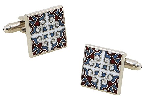 Personalised Engraved Square - FOONEE Classic Square Men's Polo Shirt Cuff Links
