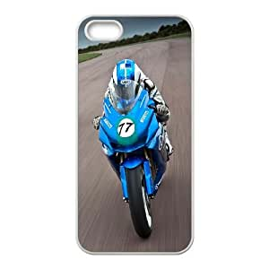 iPhone 4 4s Cell Phone Case White Speed Moto Race SUX_026303