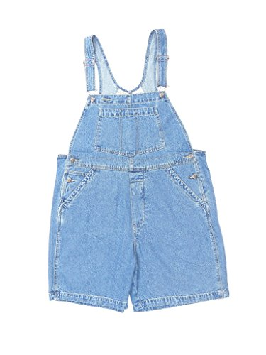 St. John's Bay Women's Plus Size Classic Overalls Denim Shortalls Overall Shorts Size 22 from St. John's Bay