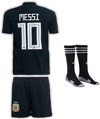 JTex Argentinien 2019-20 Messi, Casa/Lejos, Camiseta de Manga para ...