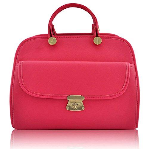 Xardi London-Borsa da donna con tracolla, con Doctor-Borsa da donna con tracolla, Bags UK Rosa (rosa)