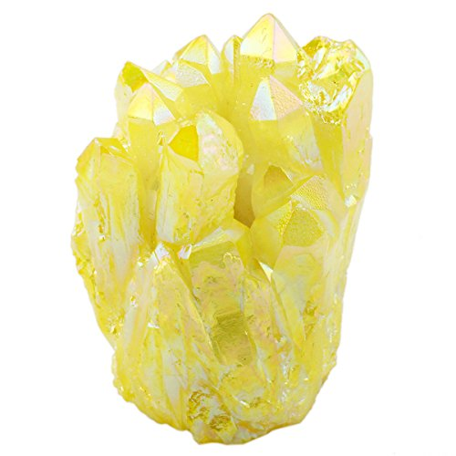 sunyik-lemon-yellow-titanium-coated-quartz-crystal-cluster-drusy-geode-flame-aura-gemstone-specimen-