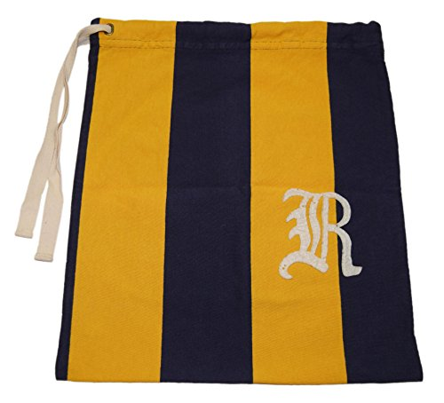 Polo Ralph Lauren Rugby Drawstring Tote Bag Sack Letterman Patch Yellow - Yellow Ralph Bag Lauren
