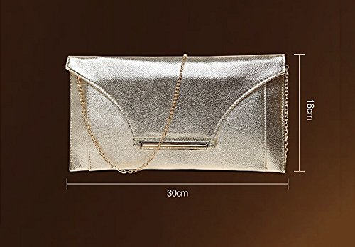 Bridesmaid Bag Color Evening Brown Bag Package Tide Diamond Bridal Bag Handbag Gold Bag wap6qI