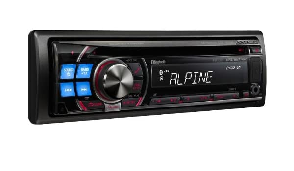 Alpine CDE-103BT 200W Negro receptor multimedia para coche - Radio para coche (Negro, 200 W, CD,CD-R,CD-RW, 5-20000 Hz, 105 dB, 1Bit): Amazon.es: ...
