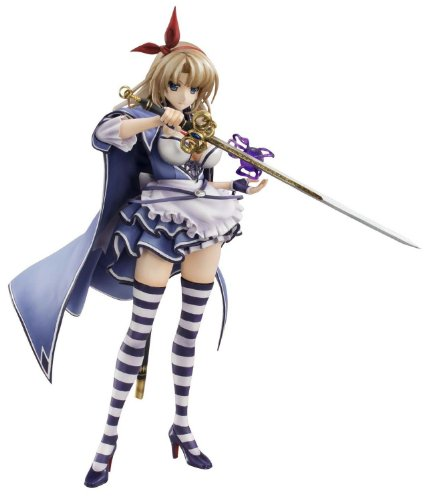 Megahouse Queen's Blade Grimoire Alicia PVC Figure (Excellent (Queen's Blade Costumes)