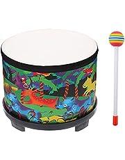 1 Set Percussion Drum Hand Drum Floor Drums Kids Musical Instrument Toys (Color : Assorted Color)