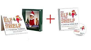 Elf on the Shelf Gift Set: A Christmas Tradition with Blue Eyed North Pole Pixie-Elf with Free Official Activity Book!
